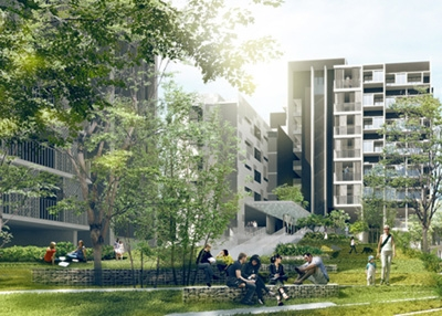 Faculty Housing, Nanyang Technological University