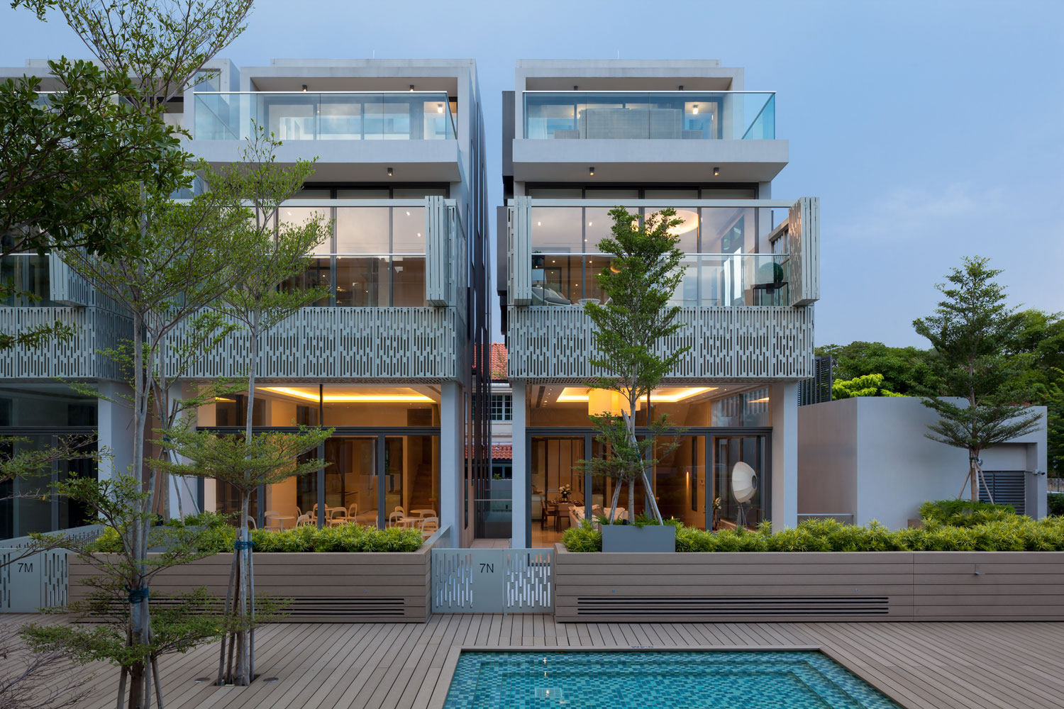 Seven Crescent Singapore Residential Architecture