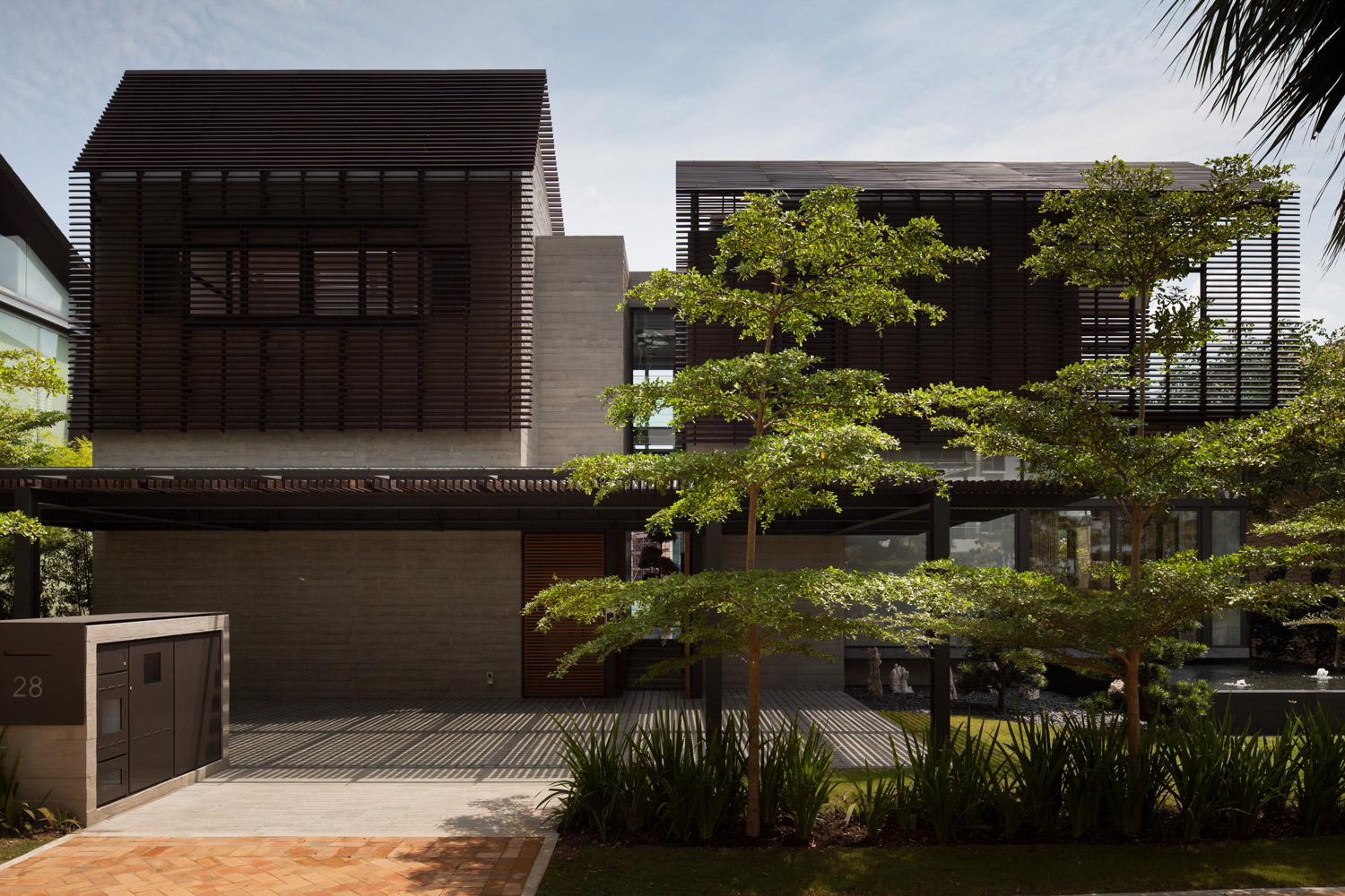 Bungalow Cove Way Singapore Home Architecture
