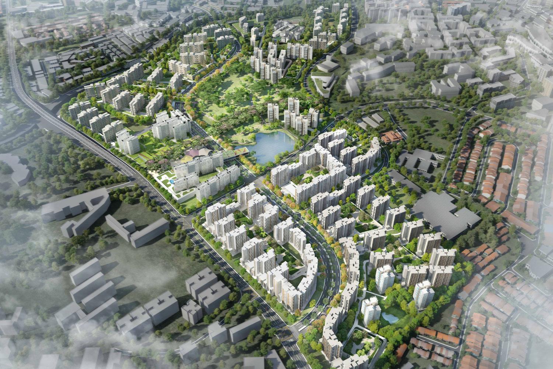 Master Plan For Public Housing At Bidadari Estate